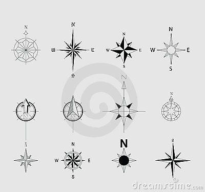 7 North Arrow Vector Images - North Arrow Clip Art, North Arrow Symbol and North Arrow Clip Art / Newdesignfile.com