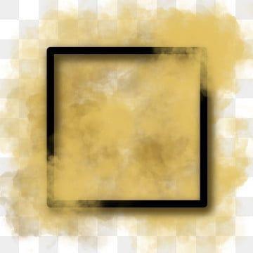 الإطار الأسود مع الدخان الذهبي الإطار الإطار الفارغ ذهبي Png وملف Psd للتحميل مجانا In 2021 Frame Glitter Frame Frame Clipart