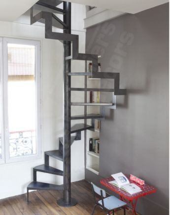 Photo Dh72 Spir Deco Caisson D Angle Escalier Interieur
