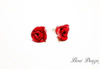 57184ab4b7113 Romantic Rose Earrings | Jewelry Tutorials! | Easy diy crafts ...