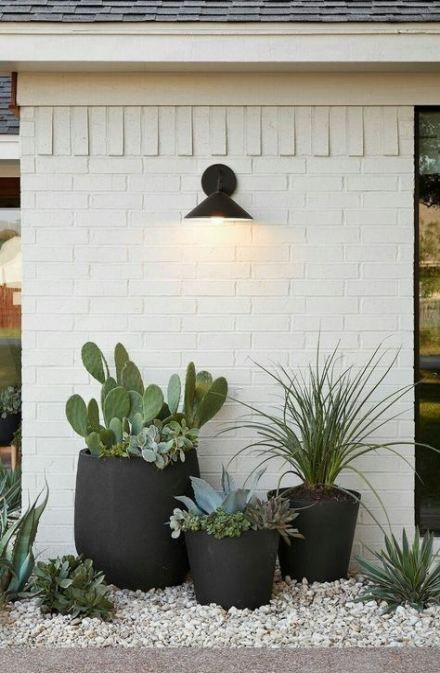 38 Ideas For Exterior Brick Wall Decor Patio Wall Exterior
