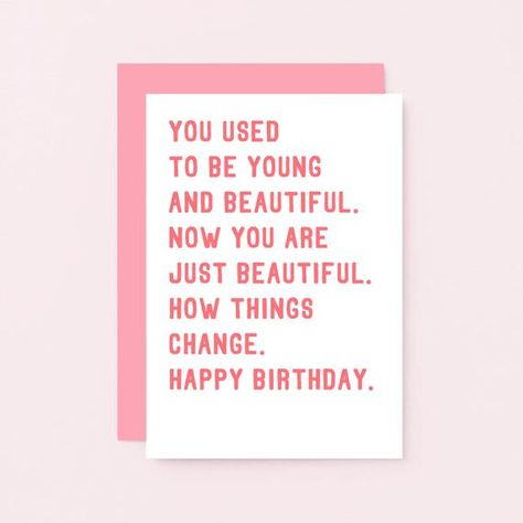 Funny Birthday Card For Friend | Funny Card For Her | Sarcastic Birthday Card For Sister | Friend Birthday Card Funny | SE2016A6