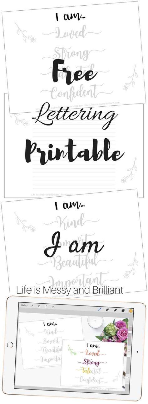 16+ Free hand lettering worksheets for beginners Live