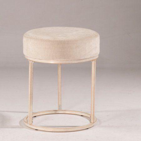 Amazing Hillsdale Furniture Swanson Vanity Stool In 2019 Bedroom Camellatalisay Diy Chair Ideas Camellatalisaycom