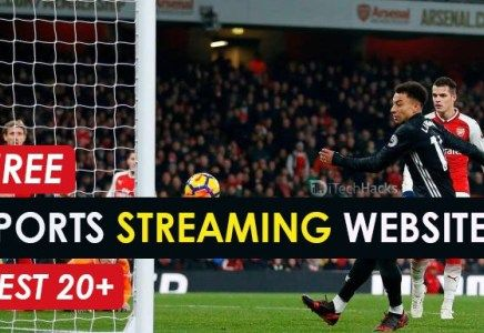 Top 20 Free Live Sports Streaming Websites Of 2020