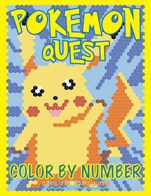 Pokemon Quest Coloring Pages Design