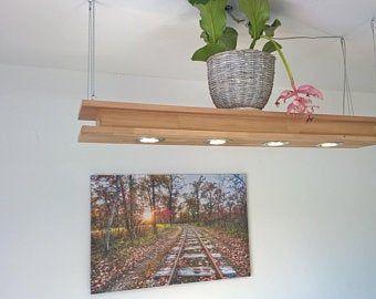 Blockwood Forge Lampara De Techo De Madera Flameada Para La Etsy Hanging Lamp Wood Ceiling Lamp Dining Room Pendant Lamp