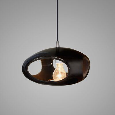 Brayden Studio Perth 1 Light Single Geometric Pendant Shade