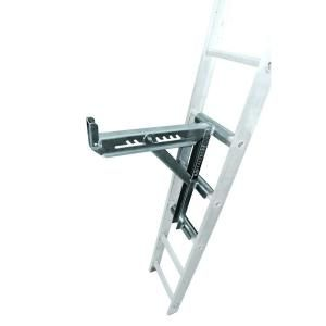 Quiet Glide 96 In H X 16 In W Unfinished Maple Ladder Qg6008ma The Home Depot In 2020 Ladder Ladder Accessories Ladder Stabilizer