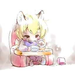 Cute Toddler Animated Fox Child