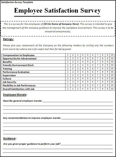 Labour Certificate Employee Questionnaire Pinterest - sample customer satisfaction survey