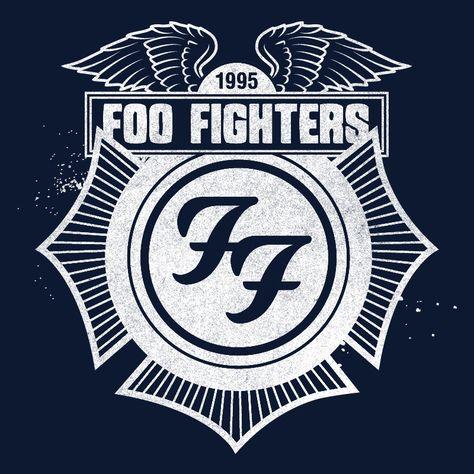 LOOOOOOOOOOOOOOOVE!!!!    Foo Fighters Store  Navy Winged Crest Zip Hoodie