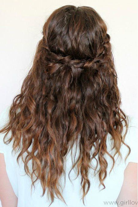 Our Favorite Curly Hairstyles Curly Hair Styles Braided