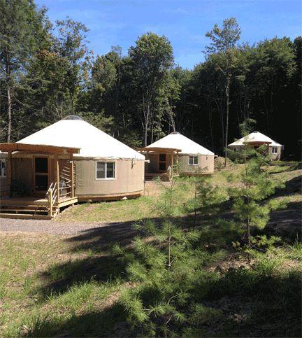 The Yurt Village At Savage River Lodge In Western Maryland Is Definitely Bucket List Worthy