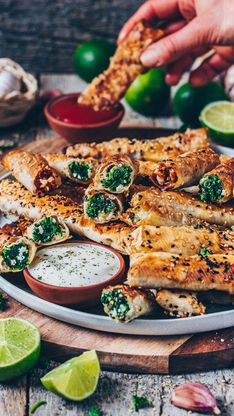 10 BEST VEGAN Partyfood Recipes #nuggets #vegetarisch #vegetarischnuggets