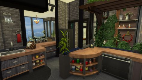 Small modern loft at Enure Sims MMORPG Pinterest Modern - sims 3 wohnzimmer modern
