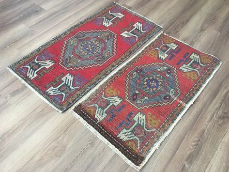 1 7x3 3 Ft 51x100 Small Red Rug