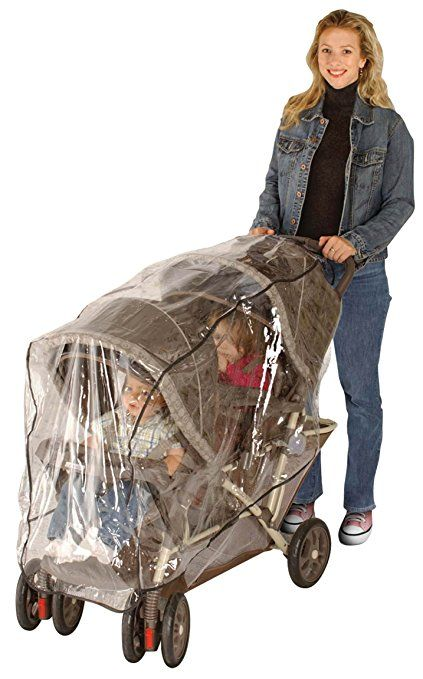 Jeep Side by Side Stroller One Size Weather Shield White