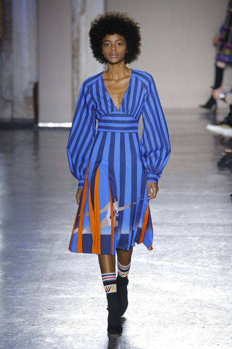 Stella Jean Fall 2018 Ready-to-Wear collection, runway looks, beauty, models, and reviews.