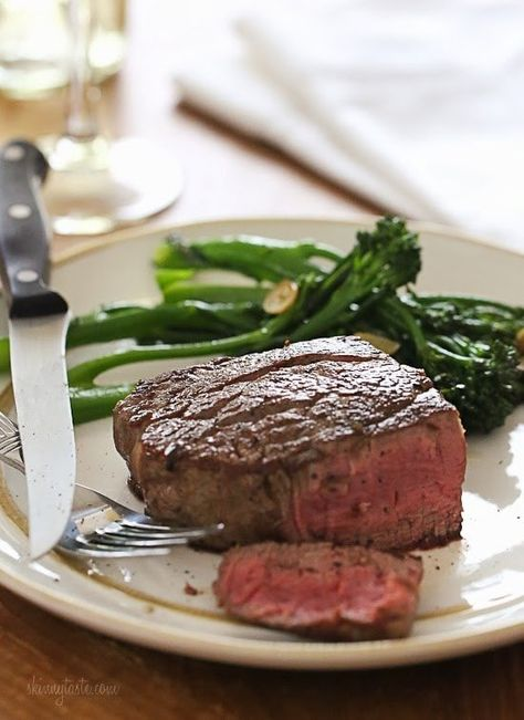 This easy recipe will give you perfect Filet Mignon every time. As a steak lover, I can't think of a better meal for two to enjoy for on special occasions