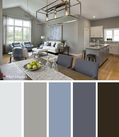 Morr Interiors Dorset Park Interior Design Palette Interiordesign Design Livingroom Blue Grey Blue Grey Living Room Living Room Colors Room Color Design