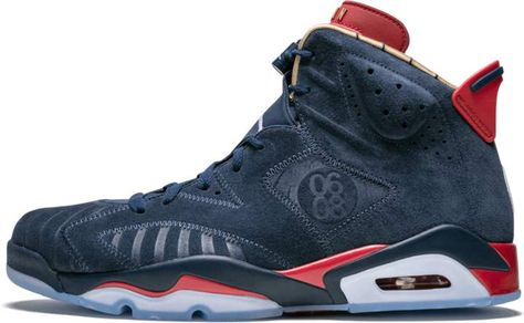 2079f824ade8f9 Air Jordan 6 Retro DB Midnight Navy White  Doernbecher  in 2019 ...