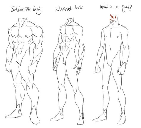 Did a miniguide of male anatomy for a friend.  A lot of people ask me if they can use my art as reference and I dont advice to do that. You will learn faster and better doing your own anatomy studies...