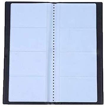 Grekywin Business Card Book Name Card Holder Business Card Organizer Pu Leather Name Card Holder Hold 400 Business Card Organizer Business Card Books Card Book