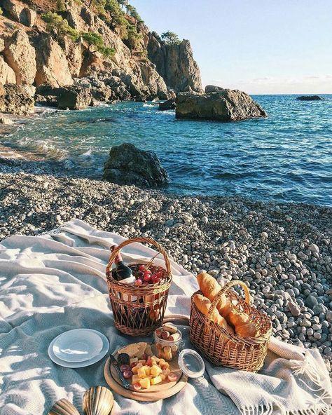 beach picnic #travel