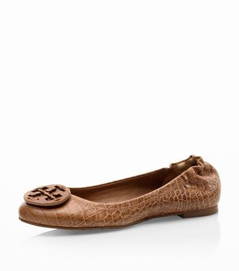 0e6c414b1ba3 Great fall flats! Amazon Croc Print Reva Ballet Flat