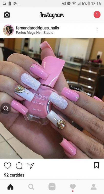 Nails Cute Long Simple 47 Super Ideas