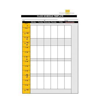 Best 5 Class Schedule Template Word Excel You Calendars Https Www Youcalendars Com Class In 2020 Class Schedule College Class Schedule Template College Classes