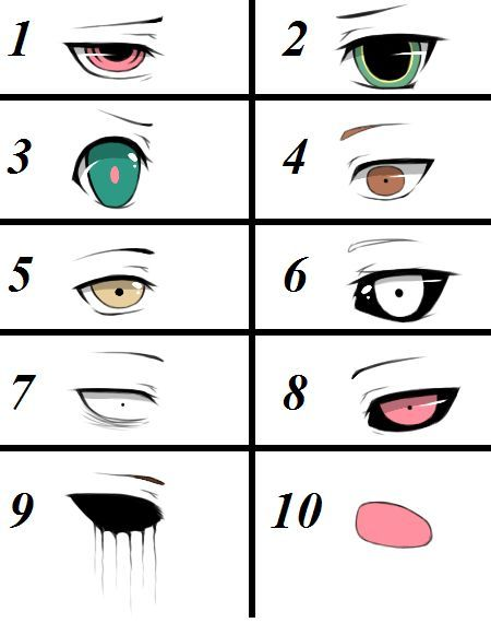Pin By Caitlin Allison Rose On Monstruos Anime Anime Eyes Sketches Creepypasta