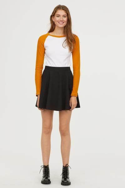 680e601dfc Skater Skirt | FASHION & STYLE | Black skater skirts, Skater Skirt ...