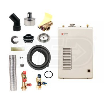 Noritz Eztr40ng Eztr40 3 7 Gpm At 60 F Rise 0 89 Uef Gas Tankless Water Heater Direct Ven Tankless Water Heater Water Heater Tankless Water Heater Gas