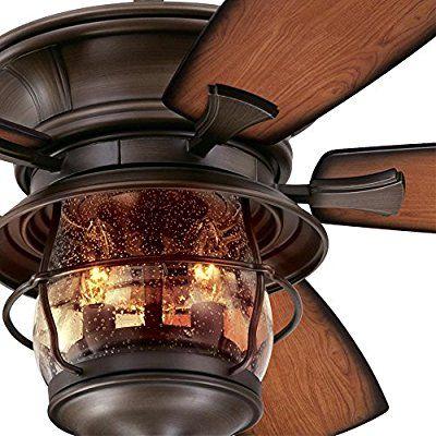 Westinghouse 7800000 Brentford 52 Inch Aged Walnut Indoor Outdoor
