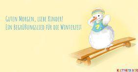 Ein Begrüßungslied Für Die Winterzeit Klanggeschichten