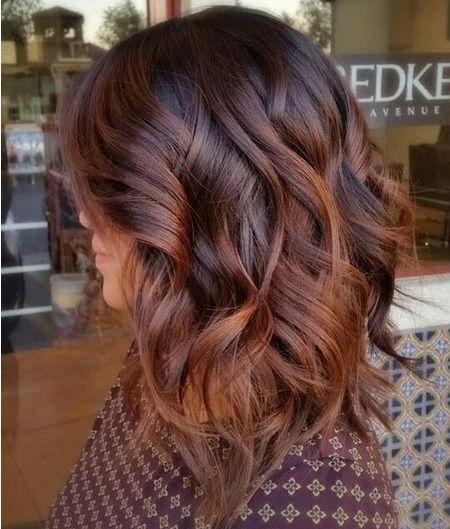 Balayage Rot Braun 18 Beste Rötlich Braune Haarfarbe