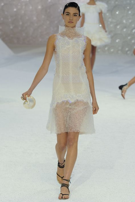 2a1359ce3f210e Chanel | Spring 2012 Ready-to-Wear Collection | Style.com details jellyfish  dress