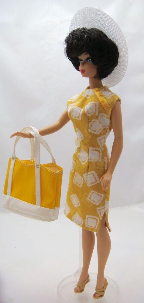 Sunny day handmade dress.