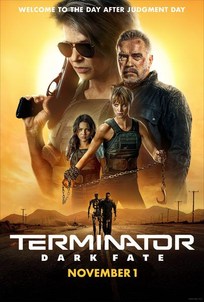 Movie Trailers Terminator Dark Fate Trailer 2 No Synopsis At