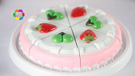لعبة طبخ تورتة الايس كريم واجمل العاب المطبخ للبنات والاولاد Birthday Cake Toys Food Cake Desserts