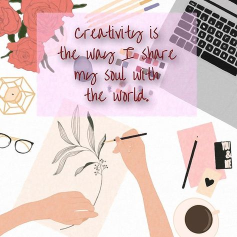 Creativity is the Way I share my Soul with the World. Who can relate to this?! Lots of us I'll bet in many different guises!!  . . . #creativity #creativityquotes #whencreativityknocks #creativityrocks #creativity_loves #creativityeveryday #creativityforlife #creativitymatters #creativityiskey #creatives #creativepreneur #creativelifehappylife #creativebiz #creativeminds #creativehappylife #sundayfunday #sundayvibes #sundaymotivation #sundaymood #creativevibes