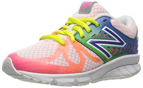 New Balance KJ888V1 Grade Running Shoe (Big Kid), Purple/Pink, 38.5 M EU