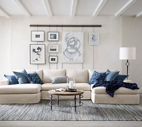 Bolinas Upholstered 3 Piece L Sectional Furniture Affordable Home Decor Home Decor