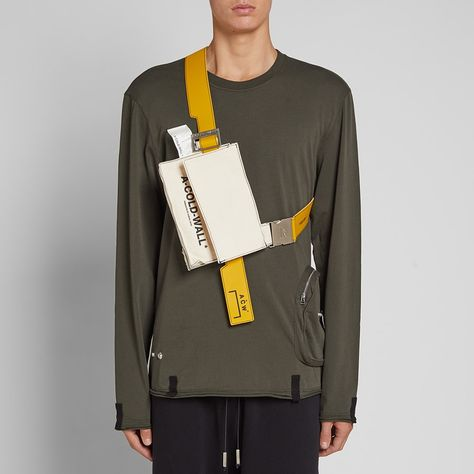 A-COLD-WALL* Canvas Utility Bag Natural Amber | END.