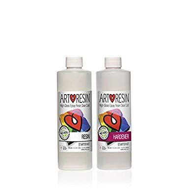 Clear Non-toxic ArtResin® Epoxy Resin Starter Kit | Resin
