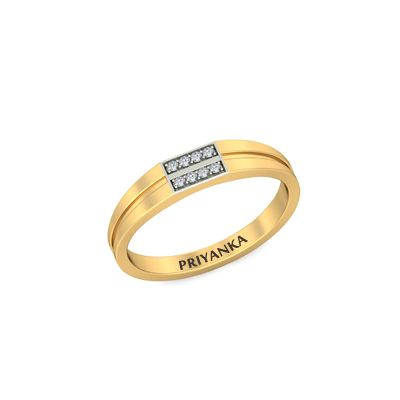 Buy gracious name engraved engagement rings for indian couple in
