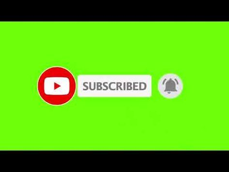 Green Screen Subscribe Button!! - YouTube   كوكب الترفيه in