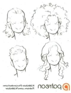 Curly Hair Reference Sheet 2 By Kibbitzer On Deviantart Anime Animedibujoscabeza Curly Deviantart Hair Curly Hair Styles Hair Reference Curly Hair Tips